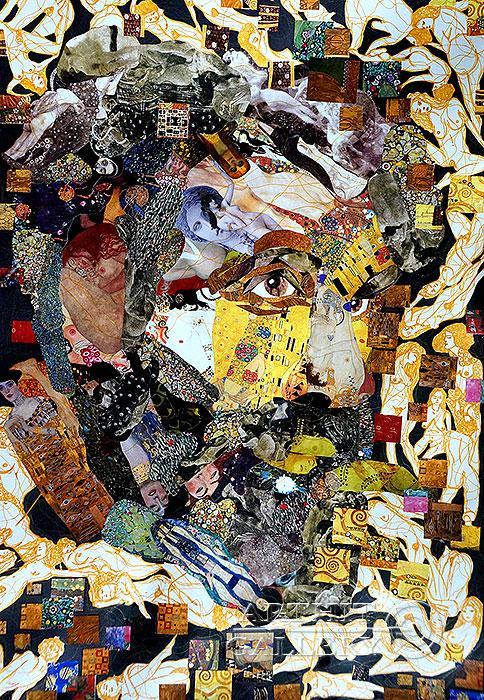 'Klimt. Erotic flight'. Bast Irina