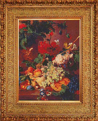 ''Ян ван Хёйсум. Цветы и фрукты''.  Акиншина Мария. Продажа картин, предметов декоративно-прикладного искусства