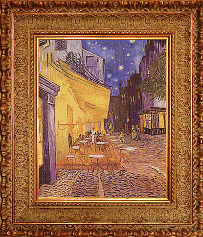 'Vincent Van Gogh. |Cafe Terrace at Night'  by Akinshina Maria