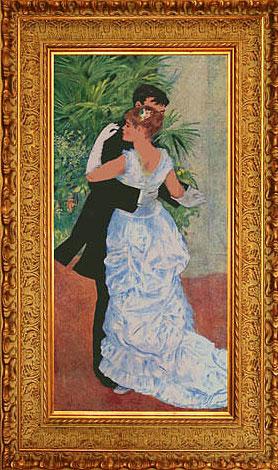 ''Пьер Огюст Ренуар. Танец в городе''.  Акиншина Мария. Продажа картин, предметов декоративно-прикладного искусства