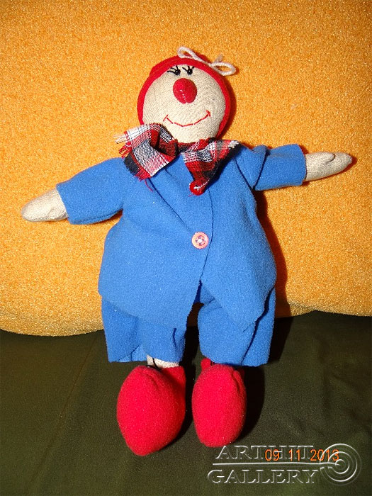 ''Кукла-оберег #4''.  Кондаков Сергей. Продажа картин, предметов декоративно-прикладного искусства