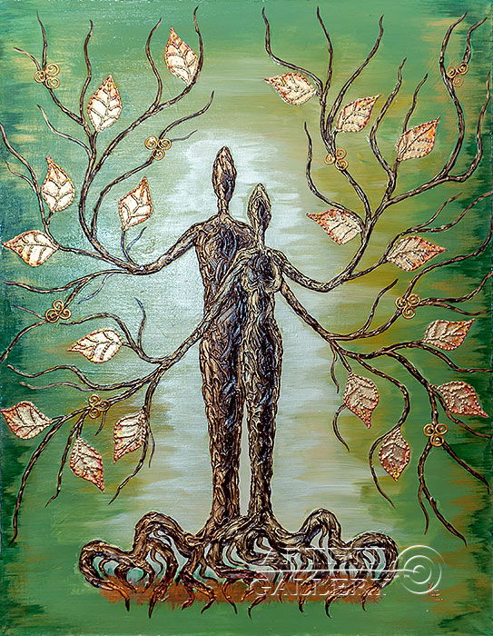 'Picture `Love Tree`'. Karlova Elena