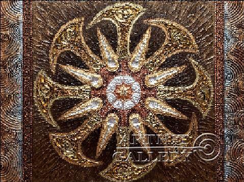 'Picture-protective amulet `Kolovrat`'. Karlova Elena