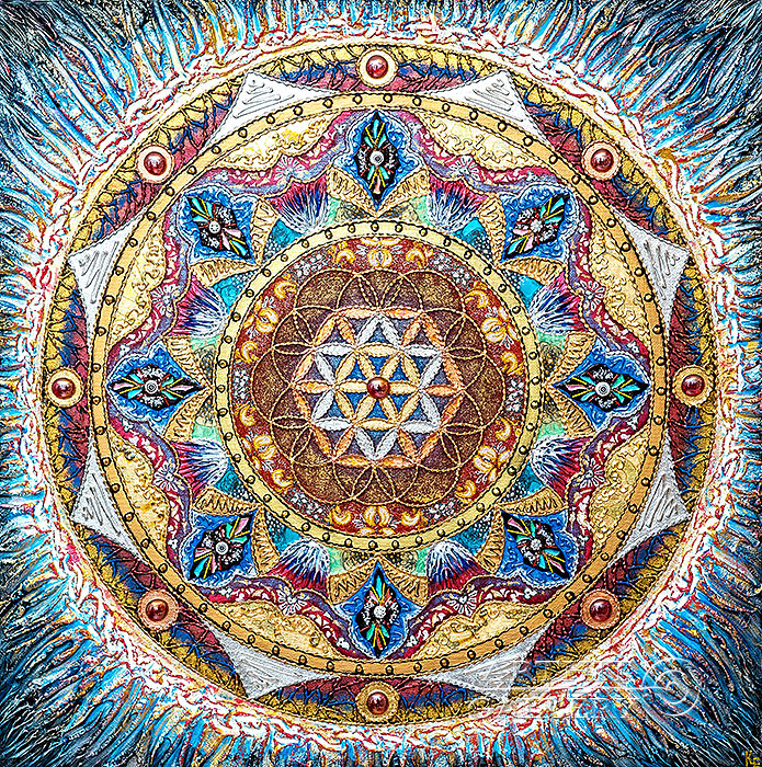 'Mandala `The Soul`s Flower`'. Karlova Elena