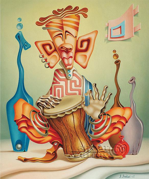 ''Транс''.  Лямкин Александр. Продажа картин, предметов декоративно-прикладного искусства