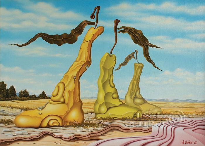 ''Фруктовый пейзаж''.  Лямкин Александр. Продажа картин, предметов декоративно-прикладного искусства