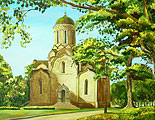 ''Morning (Spassky Cathedral of St. Andronik Monastery, Moscow)''.