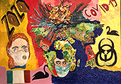 ''WorldTogether-The Fall of Coronavirus''. Alferov Andrei. Modernism