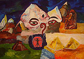 ''Тибет-Шамбала''. Алферов Андрей. Модернизм