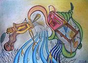 ''Music''. Tenigin Artem. Surrealism