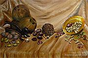 ''Nuts''. Vasilyeva Irina. Still life