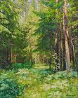 ''Солнечный лес''. Говоров Сергей. Пейзажи