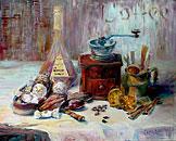 ''Coffee''. Sapozhnikova Svetlana. Impressionism