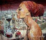 ''Tea partyII''. Devyatova Olga. Surrealism