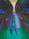 ''Man as a vessel''. Torbin Ilya. Expressionism