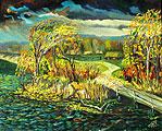 ''Autumn fantasy''. Vodolazkin Sergey. Landscapes