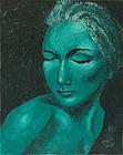 ''Lunar woman''. Prigarina Evgeniya. Impressionism