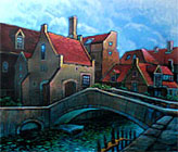 ''Bruges''. Smirnov Eugeniy. Landscapes