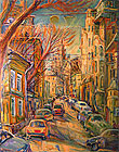''Spring in the city''.