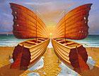 ''Knight of Seas''. Privedentsev Gennady. Surrealism