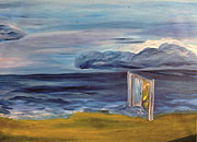 ''Walk, a door''.