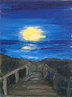 ''The moon and the sea''.