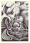 ''Waves''. Aln Vladimir. Drawing