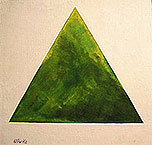 ''Hi Malevitch! Green triangle''.