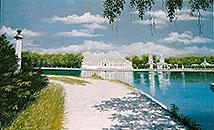 ''Panorama of Kuskovo''. Rimsky-Korsakov Yuriy. Landscapes