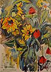 ''Цветы''. Оганесян Асмик. Натюрморты