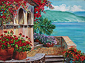 ''Ancedonia''. Pavlovich Anna. Impressionism