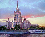 ''Stalin skyscraper on T. Shevchenko embankment''.