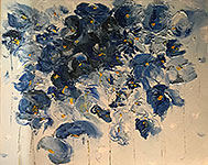 ''Blue Bouquet''. Allaberdieva Violetta. Impressionism