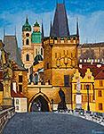 ''Mala Strana''. Klymenko Ivan. Impressionism