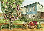 ''Старый купеческий дом''. Газарова Лариса. Пейзажи