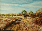 ''Autumn road''.