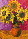 ''Sunflowers''.