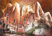 ''Venetian woman''. Podgaevskaya Marina. Surrealism