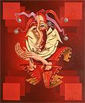 ''Jester''. Lyamkin Alexander. Surrealism