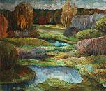 ''October''. Korshunova Elena. Impressionism