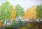 ''Autumn parade''. Belova Nina. Impressionism