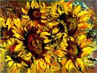 ''Солнечные цветы''. Ягужинская Вольга. Экспрессионизм