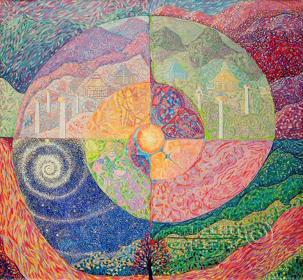 ''Карта Шамбалы''.  Лонли Лола. Продажа картин, предметов декоративно-прикладного искусства
