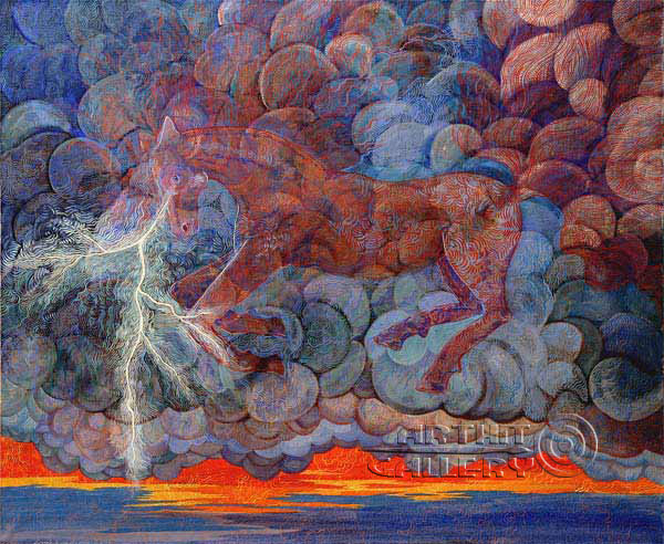 'The Storm Horse'. Lonli Lola