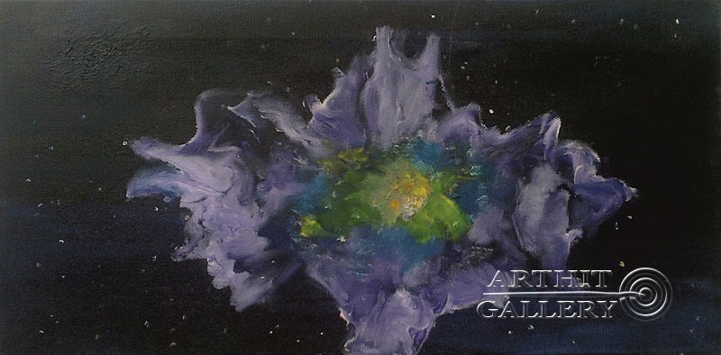 ''Галактика''.  Генцарь Рената. Продажа картин, предметов декоративно-прикладного искусства