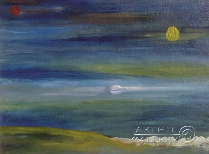 'Three moons'. Gentzar Renata
