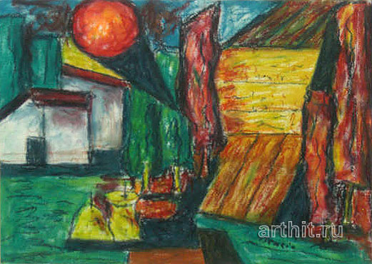 ''Закат''.  Бенчини Джанфранко. Продажа картин, предметов декоративно-прикладного искусства