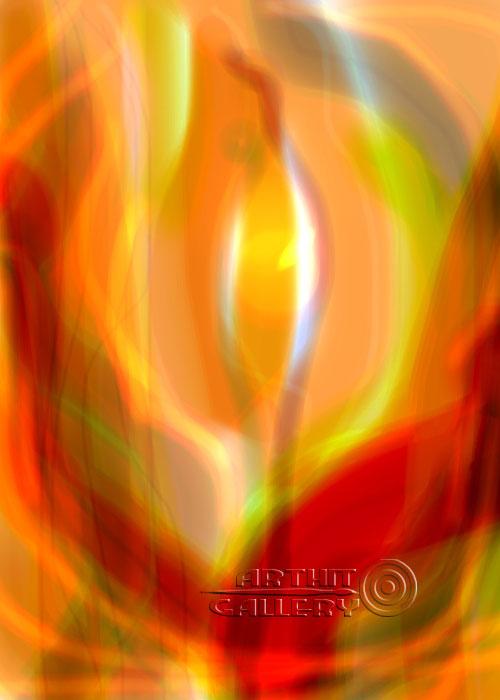 ''Аленький цветочек''.  Штыкова Ирина. Продажа картин, предметов декоративно-прикладного искусства