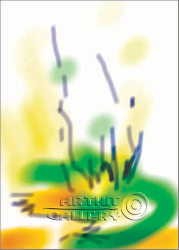 ''Одуванчики''.  Штыкова Ирина. Продажа картин, предметов декоративно-прикладного искусства