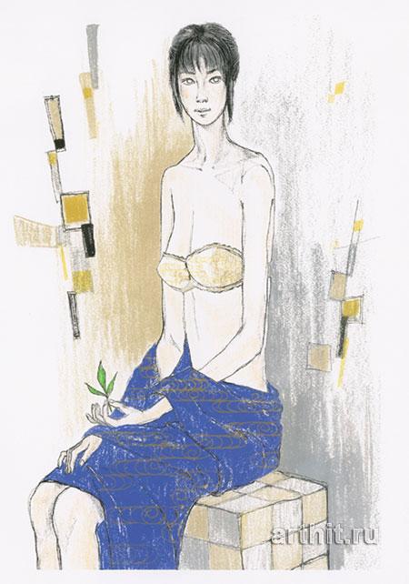 ''Лиза / Начало''.  Соухей. Продажа картин, предметов декоративно-прикладного искусства